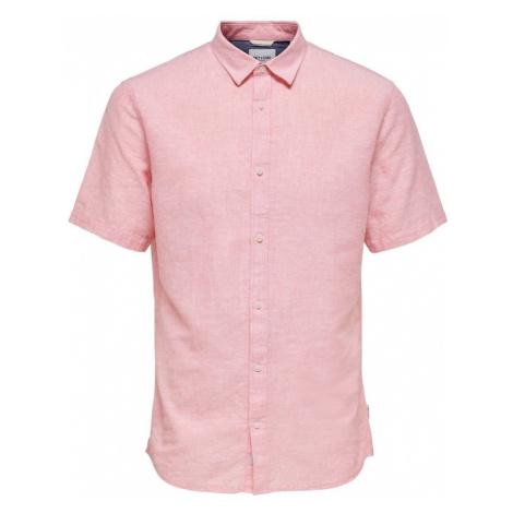 Only & Sons Koszula różowy pudrowy