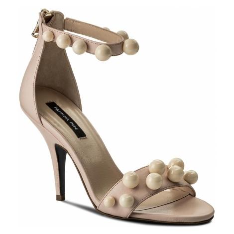 Sandały PATRIZIA PEPE - 2V7813/A3ZZ-W278 Shiny Cream