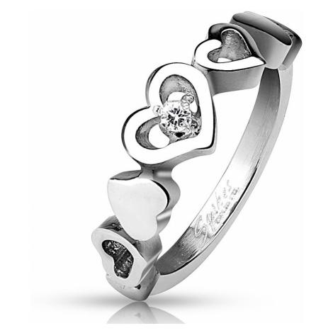 pierścionek Body Art R-M4516 - Stainless Steel