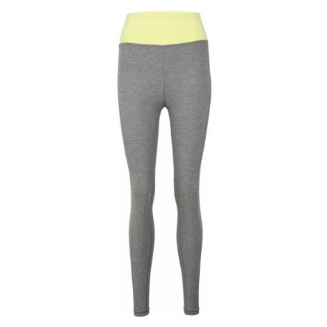 PUMA Spodnie sportowe neonowo-żółty / szary