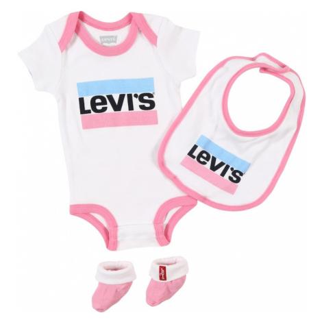 LEVI'S Zestaw różowy / biały / jasnoniebieski / czarny Levi´s