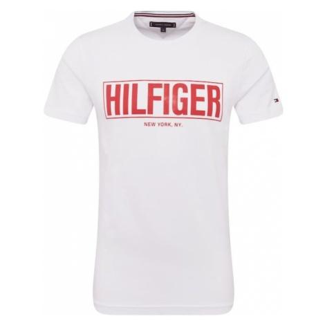TOMMY HILFIGER Koszulka czerwony / biały