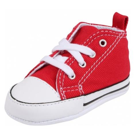 CONVERSE Buty dziecięce 'FIRST STAR HI' czerwony / biały