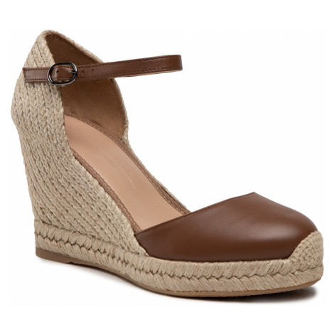 Espadryle WEEKEND MAX MARA - Kansas 55211514670 Cuoio 002/002