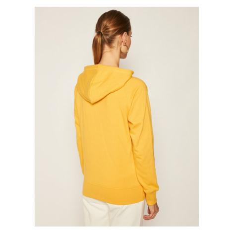 New Balance Bluza Esse Po Hoodie NBWT03550 Żółty Relaxed Fit