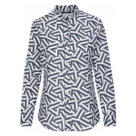 SEIDENSTICKER Bluzka biały / ciemnoszary