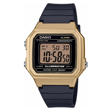 Zegarek CASIO - W-217HM-9AVEF Black/Gold