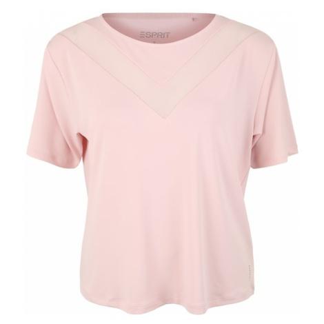 ESPRIT SPORTS Koszulka funkcyjna różowy pudrowy