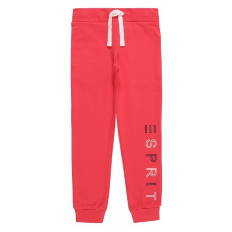 ESPRIT Spodnie kremowy / różowy