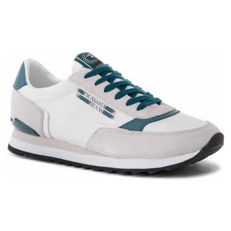 Sneakersy TRUSSARDI JEANS - 77A00151 W617