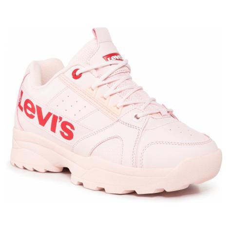 Sneakersy LEVI'S® - Soho VSOH0052S Nude Levi´s