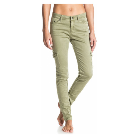 spodnie Roxy Cargo City - GLD0/Oil Green