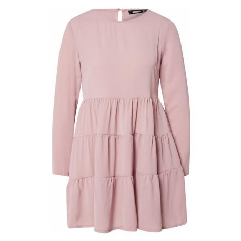 Missguided Sukienka różowy pudrowy