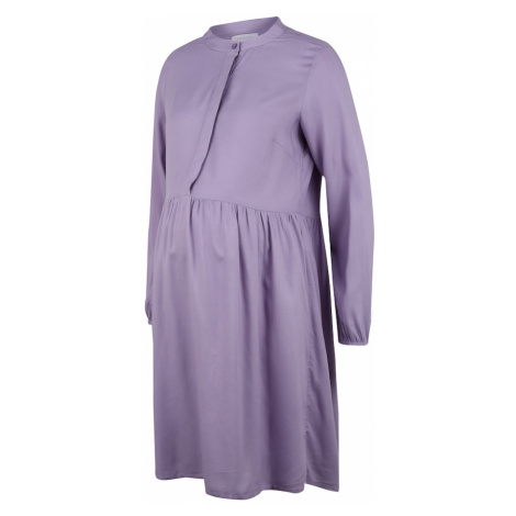 MAMALICIOUS Sukienka koszulowa 'Kiza' liliowy Mama Licious