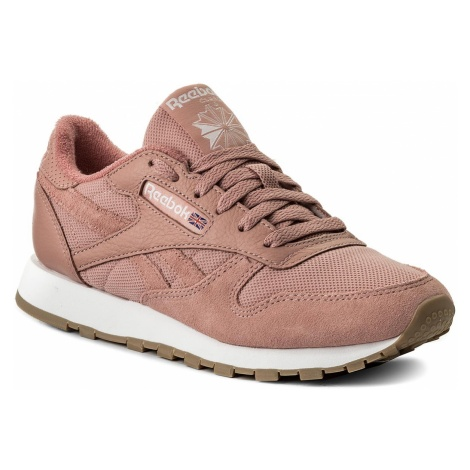 Buty Reebok - Cl Leather Estl BS9723 Chalk Pink/White