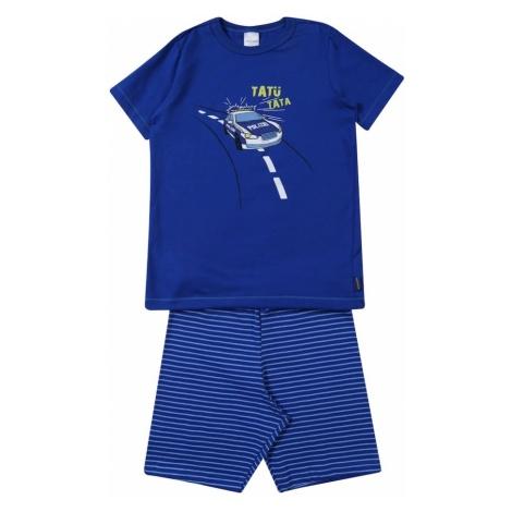 SCHIESSER Piżama niebieski / mieszane kolory