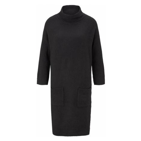 TOM TAILOR Sukienka z dzianiny czarny
