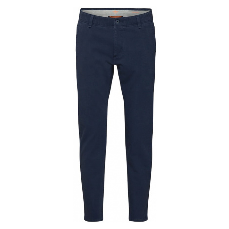 Dockers Spodnie 'SMART 360 FLEX ALPHA SLIM (TAPERED)' ciemny niebieski