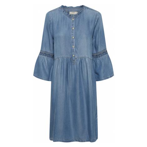 Lussa denim dress Cream