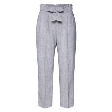 Herrlicher Spodnie w kant 'Comfy Linen Chambray Stripes' niebieski
