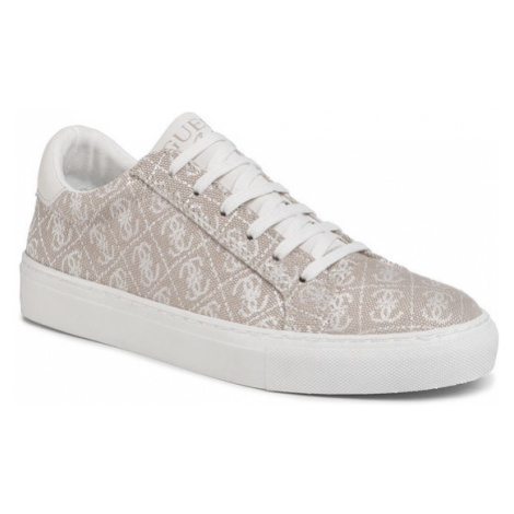 Guess Sneakersy Lucy FJ6LUC FAL12 Beżowy