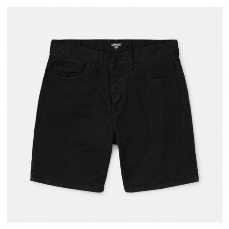 Spodenki Carhartt Wip Newel Short Cotton I027952 BLACK