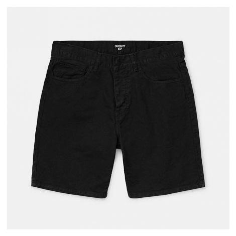 Spodenki męskie Carhartt WIP Newel Short Cotton I027952 BLACK