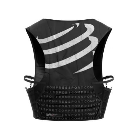 COMPRESSPORT Plecak biegowy ULTRUN PACK czarny + 2x soft flask