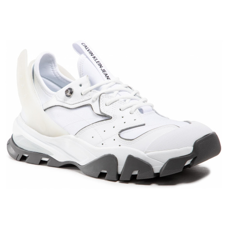 Sneakersy CALVIN KLEIN JEANS - Chunky YM0YM00052 Bright White