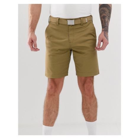 Pull&Bear chino shorts in stone Pull & Bear