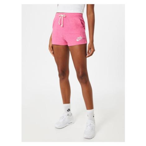 Nike Sportswear Spodnie różowy