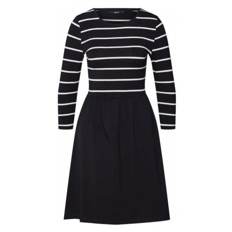 ONLY Sukienka 'Amber' czarny / biały