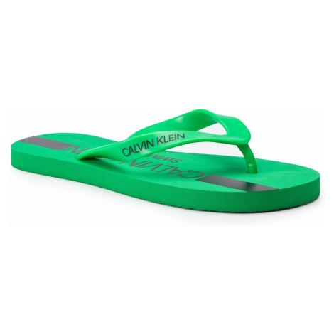 Japonki CALVIN KLEIN - Ff Sandals KM0KM00344 321