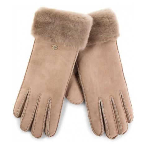 EMU Australia Rękawiczki Damskie Apollo Bay Gloves Brązowy