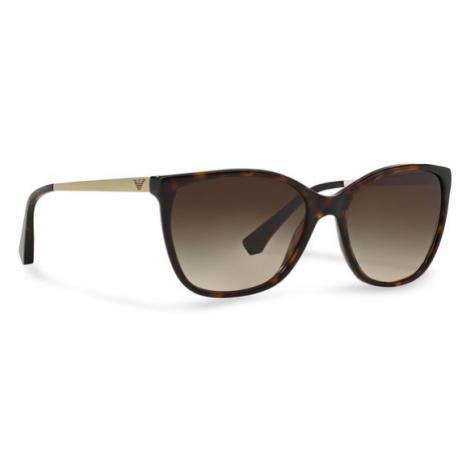 Emporio Armani Okulary przeciwsłoneczne 0EA4025 502613 Brązowy