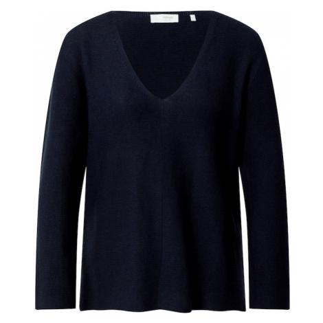 Rich & Royal Sweter ciemny niebieski