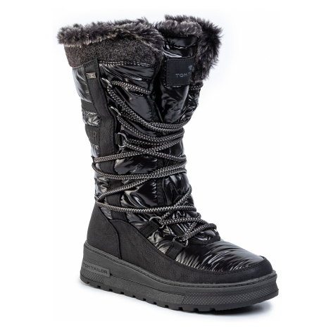 Śniegowce TOM TAILOR - 799120300 Black