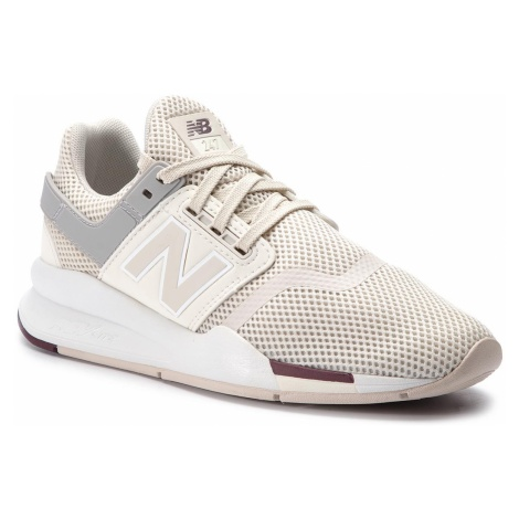 Sneakersy NEW BALANCE - WS247TRE Beżowy