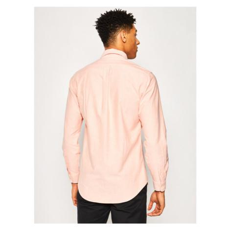 Polo Ralph Lauren Koszula Classics 710784298 Pomarańczowy Custom Fit