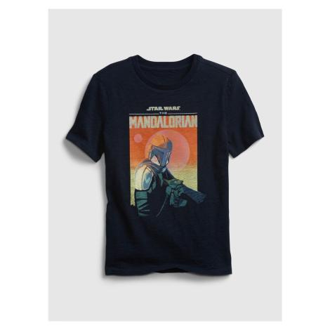GAP niebieska koszulka dziecięca Star Wars