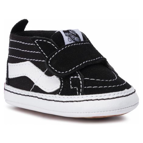 Sneakersy VANS - Sk8-Hi Crib VN0A346P6BT1 Black/True White