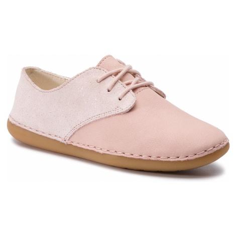 Półbuty CLARKS - Skylark Muse K 261409416 Pink Sparkle Lea
