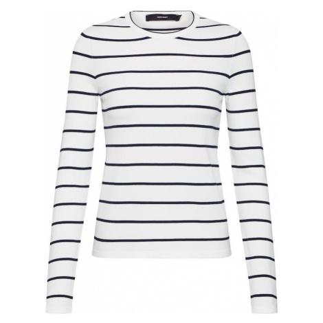 VERO MODA Koszulka 'PERL ABHY' niebieska noc / biały