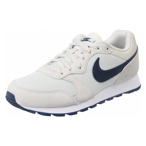 Nike Sportswear Trampki niskie 'Runner 2' beżowy / niebieska noc