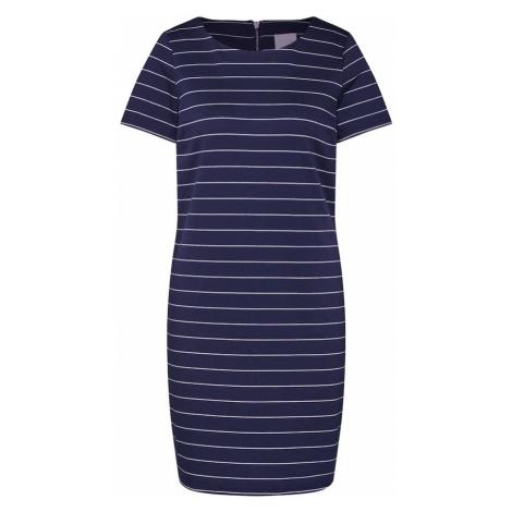 VILA Sukienka 'VITinny New' ciemny niebieski / biały