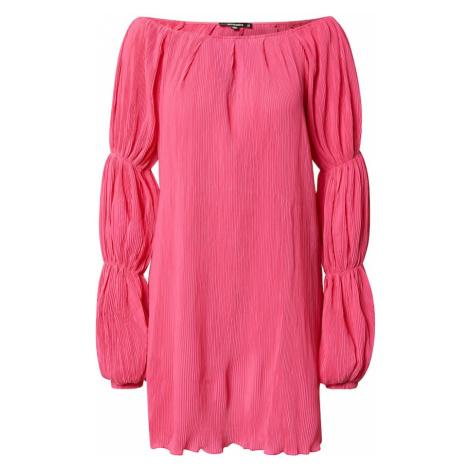 Missguided Sukienka różowy
