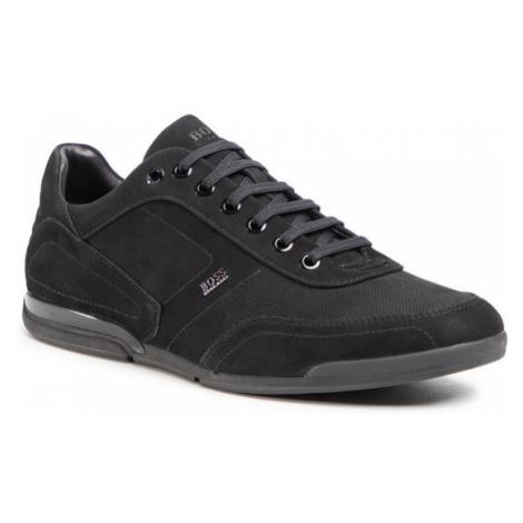 Boss Sneakersy Saturn 50445685 10214613 01 Czarny Hugo Boss