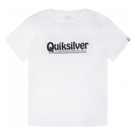 Quiksilver T-Shirt New Slang EQBZT04143 Biały Regular Fit