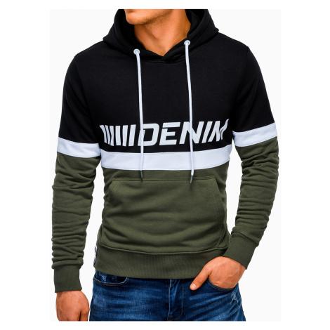 Ombre Clothing Men's printed hoodie B931