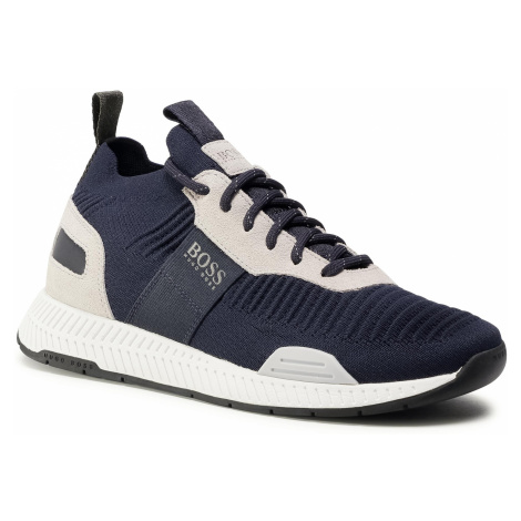 Sneakersy BOSS - Titanium 50414734 10220052 01 Open Blue 460 Hugo Boss